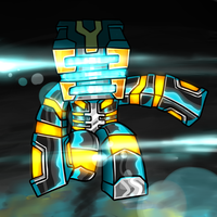 Minecraft Avatar - GhostGaming by GoldSolace