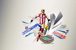 Antoine Griezmann Wallpaper by eaglelegend