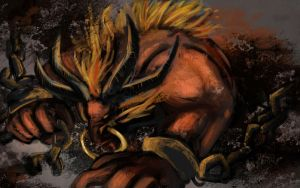 Ifrit Alistar by sweethaven