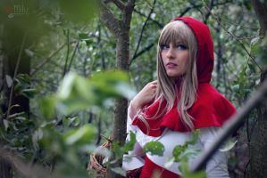 Red Riding Hood - Deep in the forest by Another-Rose