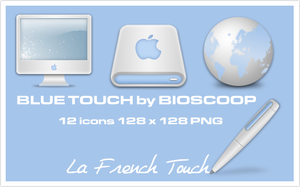 Blue Touch Icons by BioScoop