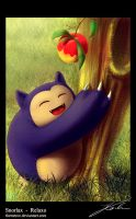 Snorlax - Relaxo by jkarlin
