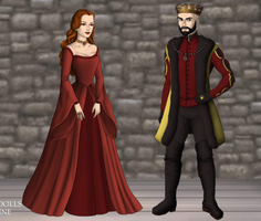 Stannis and Melisandre by alcanis-ivennil