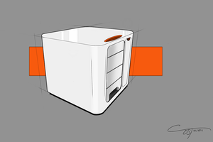 Concept Desk Container by ComplxDesign