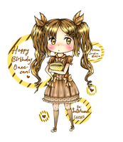 Happy CHOKOlate Birthday by JoysuArtsu