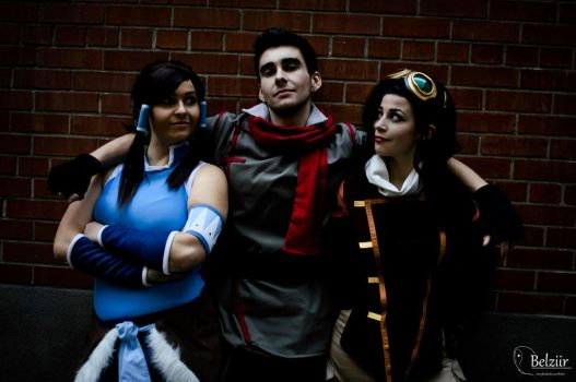Legend of Korra - Love triangle by Georgett