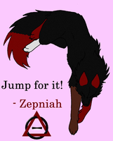 Jump for it by JosieTheTimberWolf