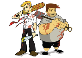 Shaun of the Dead by spiers84