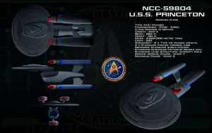 Niagara class ortho - USS Princeton by unusualsuspex