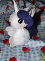 Rarity Plush Toy by Mishaila