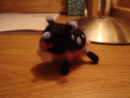 Meow Wow Woolfelt by piscella