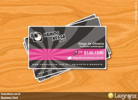 VamosNessa - Business Card by diegoliv