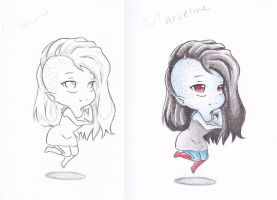 Chibi Marceline by ghost-youkai