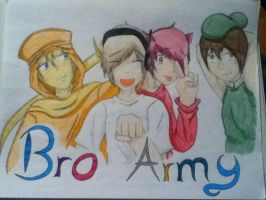 BroArmy (colored) by judy2468