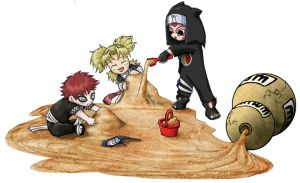 Gaara's Sandbox by adventdaughter