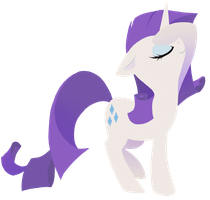Rarity_transparent by PrecosiousChild