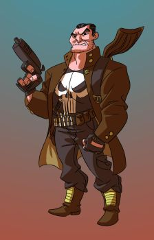 Commission: The Punisher by splendidriver