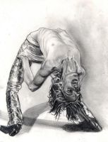 Iggy pop. pencil by Bitterkawaii