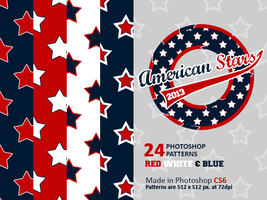 American Stars PS Patterns by giskard