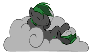 Cloud Blitz napping by ertyez
