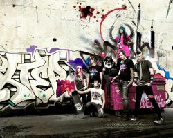 Group Street 07 Shot by BleedingStarClothing