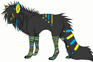 Wolf adoptable 14 -CLOSED- by MooMoo-Adopts