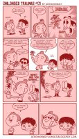 CHILDHOOD TRAUMAS 01 by PacoAfroMonkey