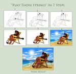 Play Those Strings - Step By Step by KingSimba