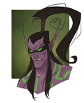 Illidan by Drkav