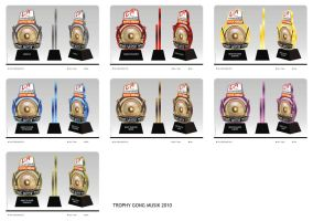 Trophy Festival Gong Musik by ignra