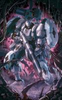 ARMARAUDERS: Issue #1 - Cover B by EnricoGalli