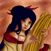 The Harvest Goddess by HiddenFantasy300