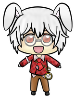 HnKnA chibi - Peter by chemicaRouge