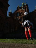 Going to pray for forgiveness - Umineko - Shannon by ViikateFretti