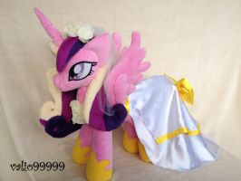 MLP FIM-Princess Cadence handmade Plush by valio99999
