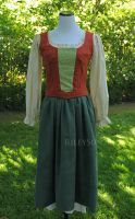 Hobbit Cosplay Dress! by rileysun20