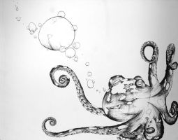 Inky Octopus by Znnai