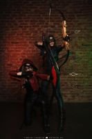Arrow and Arsenal 2 by MarikaGreek