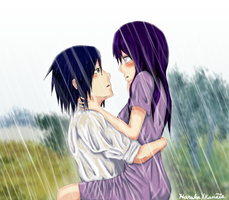 SasuHina - Kiss the Rain by HarukaXKanata