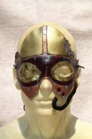 New Steampunk Deep Dea Diver Mask by SonsOfPlunderLeather