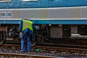 Service of train by LAtelierMark