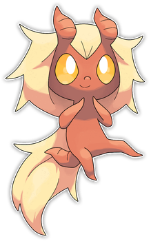 Tiefee, Mischievous Fakemon by Smiley-Fakemon