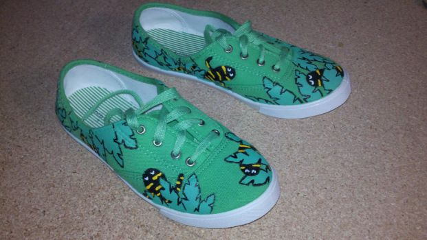 Tiger salamander shoes by StudioSquidney