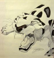 Disney Crosshatch - SABOR by Jaggid-Edge