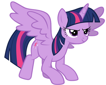 Twilight Sparkle looking confident by Tardifice