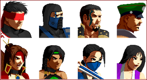 Mortal Kombat SNK Style Part 1 by iceangelmkx