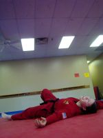 Karateka 11 - EXHAUSTION. by jinxStock