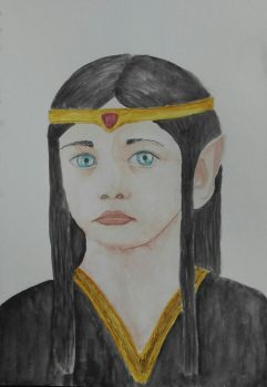 Young Feanor by nieninque-nyerea