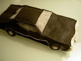 Plush Metallicar, view 3 by ldhenson