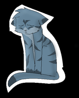Jayfeather- Do U feel cold and lost in desperation by SilverKitti